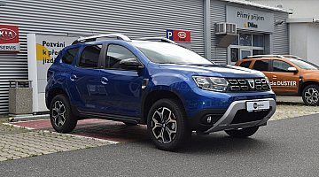 Nový vůz Dacia Duster 1,5 dCi 85kW/115k S&S 4x2 CelebrationBlue - DD587 - 8744